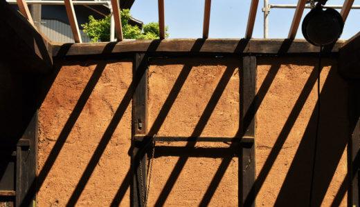 茅葺き 構造見学会