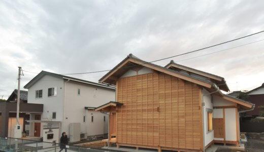 石場建ての家 完成見学会